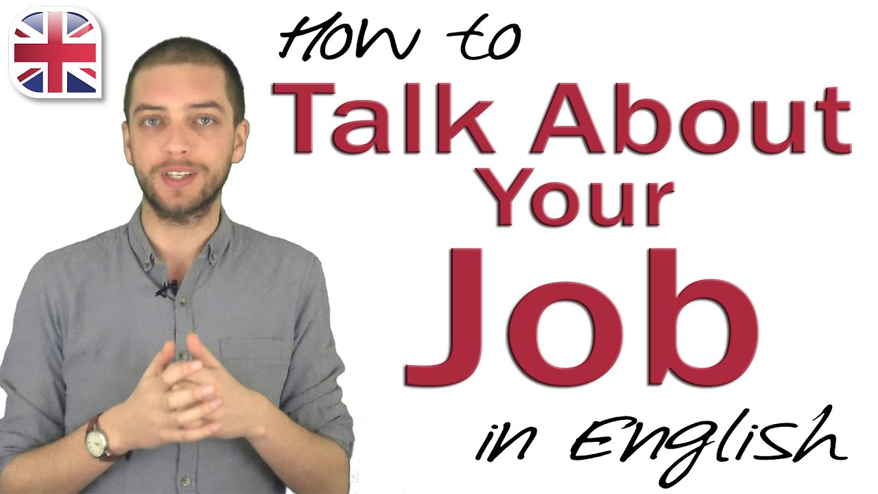 Talking About Your Job in English – Spoken English Lesson
