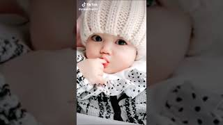 Cute baby smile status on tiktok