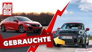 Honda Civic & Mini John Cooper Works | Das Gebrauchtwagen-Battle mit Conny Poltersdorf & Moritz Doka