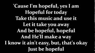 Bars and Melody - Hopeful (Lyrics)(Studio Version) thumbnail