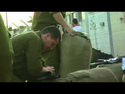 Reservists show up for duty, Operation Protective Edge