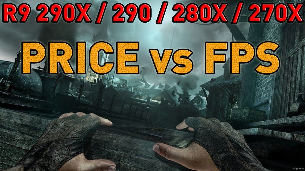 PRICE vs FPS - AMD - R9 270X/280X/290/290X - Games Benchmark [Shadow of  Mordor, Tomb Raider, Thief]