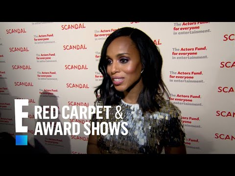 """Is Kerry Washington Happy With """"Scandal"""" Series Finale?   E! Live from the Red Carpet"""