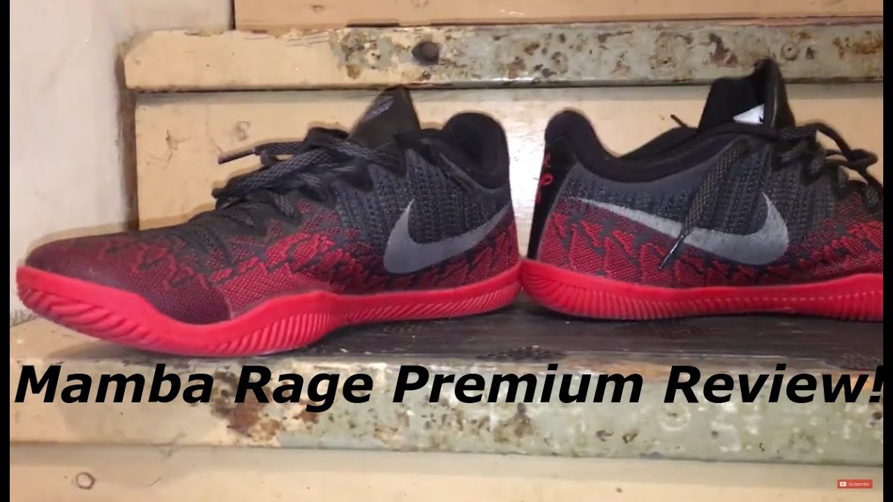 9f8073cdf946 Nike Kobe Mamba Rage Premium Performance Review - YouTube