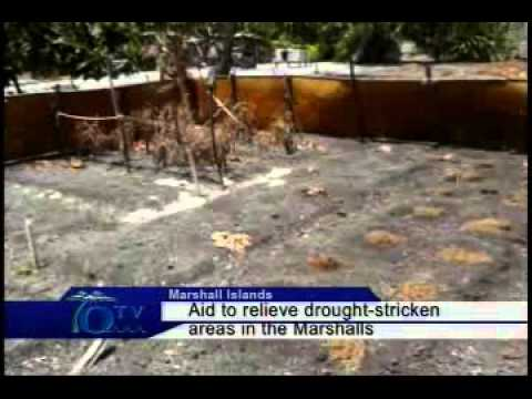 Aid To Relieve Drought Stricken Areas In The Marshalls