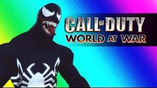 VanossGaming Venom Zombies! COD Vanoss WaW Zombies Mods Spiderman Edition