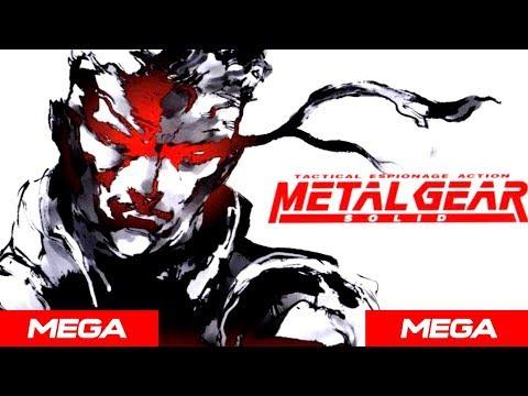 Descargar Metal Gear Solid para Pc [Portable] [Español]1 link MEGA 2018 - Gameplay [🎮]
