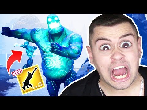 *NUR* ICE ZOMBIE LOOT in Fortnite .. thumbnail