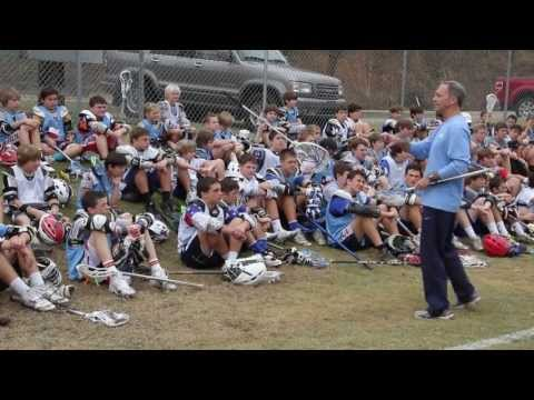 An inside look at a day at camp with UNC Lacrosse