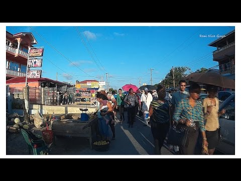 Passengers at Vreed- en- Hoop Guyana, you probably know someone passing by. ( HD).