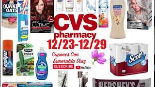 Ofertas de CVS 12/23-12/29 mas y mas productos Gratis🔥🔥