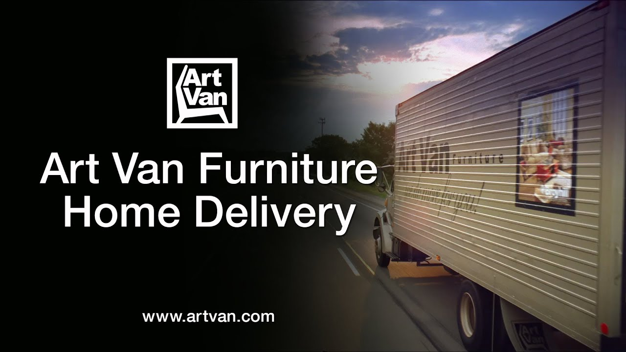 Art Van Furniture Home Delivery   YouTube