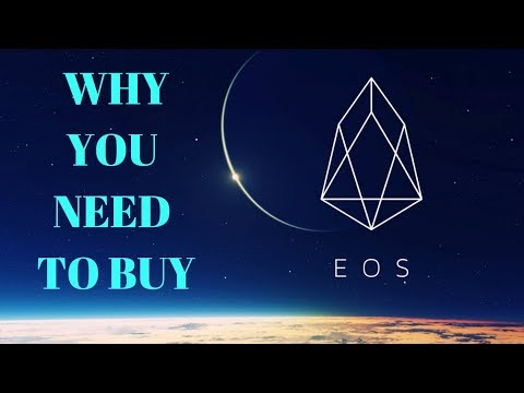 "Move over Ethereum EOS is Here!!!! EOS THE BEST ""NEW"" COIN"