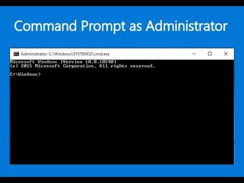 Cara Membuka Command Prompt Sebagai Administrator Di Windows 10 Youtube