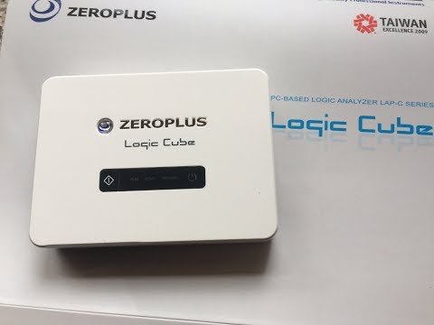 Video 1: Introduction to the ZeroPlus LAP-C Logic Analyser, 16/ 32 Channel with 121 serial decodes