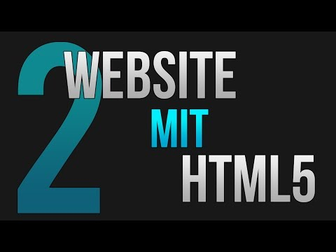 Website Mit HTML #2 (Tutorial Für Anfänger) • [German] [HD]