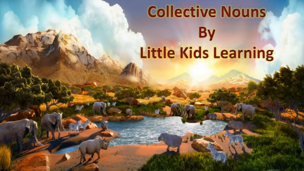 Learn English:Collective Nouns
