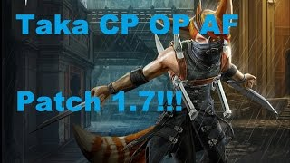 VainGlory Gameplay - Taka | CP | OP Build For Jungle 1.7 Patch!