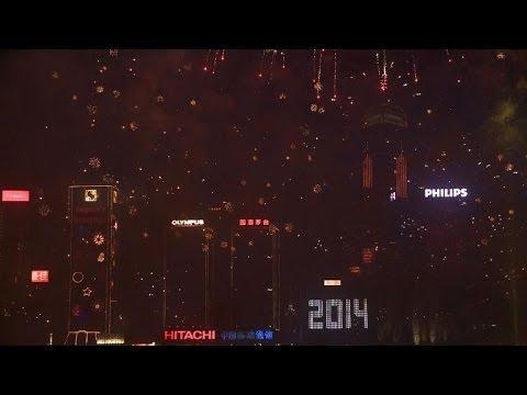 Sparkling Hong Kong joins global 2014 party