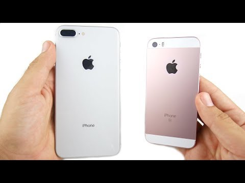 Download Youtube: iPhone 8 Plus vs iPhone SE Speed Test!