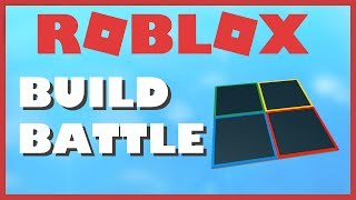 ROBLOX Build Battle Live!!!