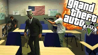 BEN IK NU LERAAR?! | GTA 5 Funny Moments