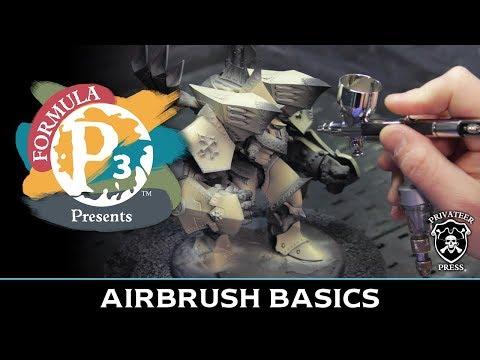 Formula P3 Presents: Airbrush Basics