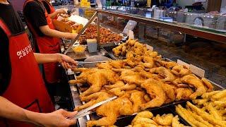 닭강정만 하루 3톤 작업하는 닭 가공 공장과 40년 전…