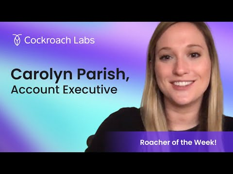 Roacher of the Week: Carolyn Parrish, Account Executive