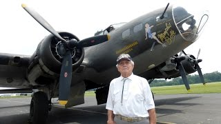 The Memphis Belle Honor Flight with Sgt. Clarence Cherry.
