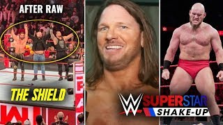 Dean Ambrose LAST ENTRANCE After Raw ! Aj Styles Major Plans After Shakeup ! WWE Raw 15 April 2019