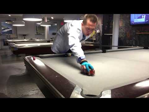 Maximum Top Spin Shot - How To Get Extreme Cue Ball Travel