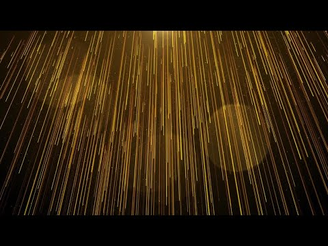 Golden Drapes Stock Motion Graphics