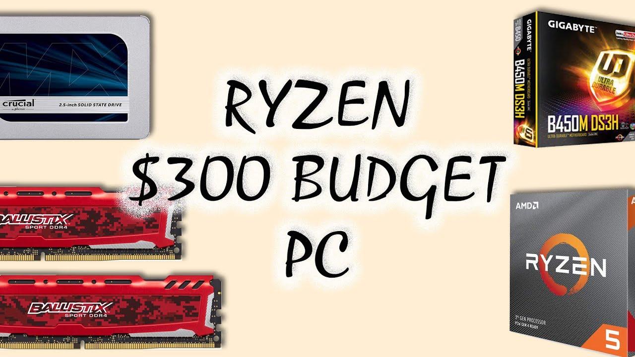 £400 Ryzen 3rd Gen Budget Gaming PC Build