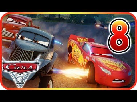 Cars 3: Driven to Win Walkthrough Gameplay Part 8 (PS3, X360, PS4, XOne, WiiU, NS)