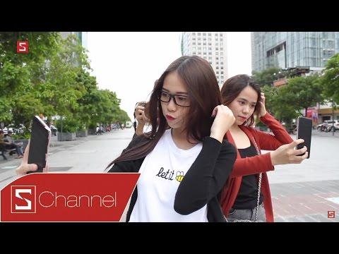 Schannel - Che logo lại, mọi người sẽ thấy Galaxy J7 Prime hay OPPO F1s selfie tốt hơn?