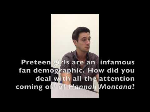 Comic-Con Exclusive: Drew Roy talks Falling Skies & Hannah Montana