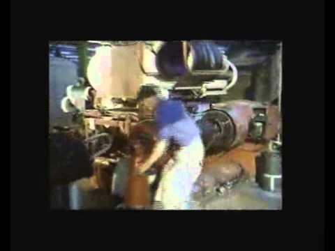 Vintage Dunlop Film - Making a Tyre - at Fort Dunlop in Birmingham, From Vintage Tyres