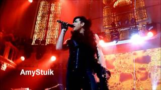 Adam Lambert - Purple Haze (smoking weed) & Whole Lotta Love (kissing Tommy) HD Amsterdam