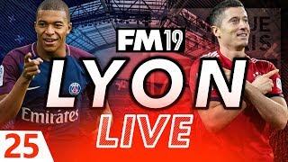 Football Manager 2019 | Lyon Live #25: Bayern And PSG #FM19