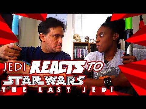 "JEDI REACTS!: ""Star Wars: The Last Jedi"" Teaser Trailer"