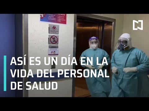 Un día en la vida del personal de salud - Despierta