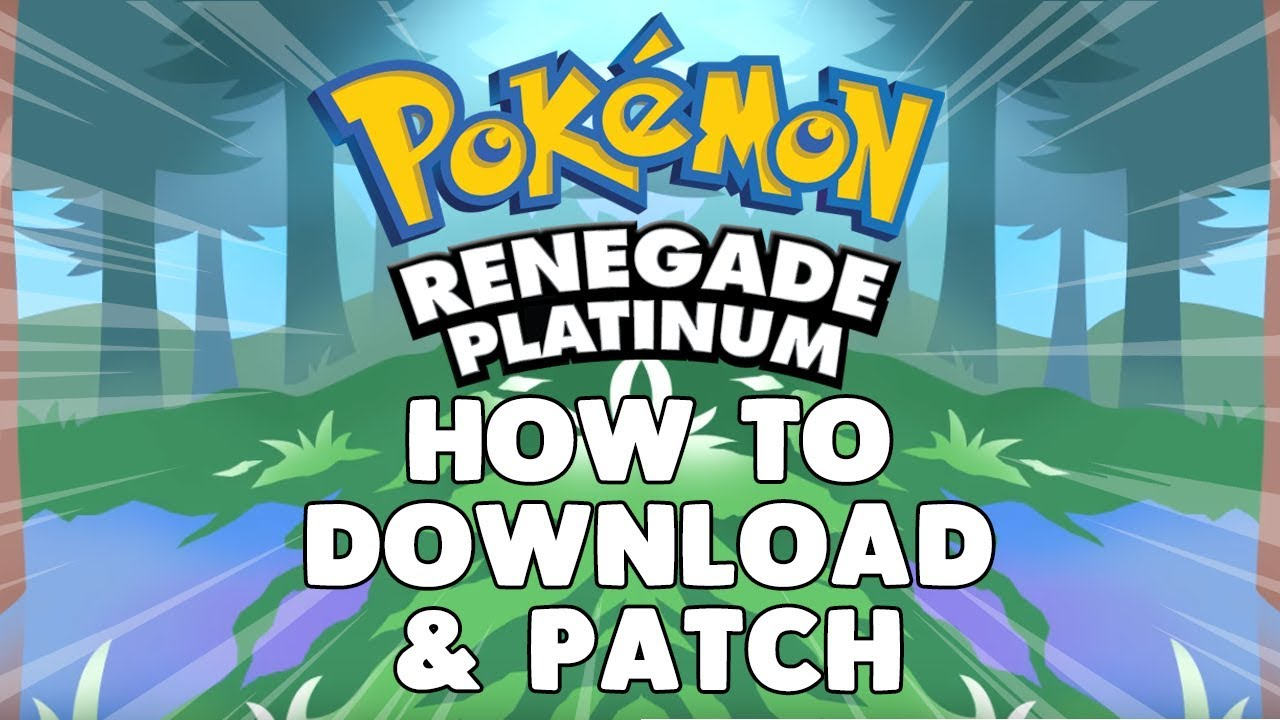 pokemon renegade platinum nds rom download
