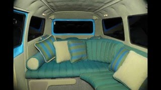 Living in a Van Interior Ideas