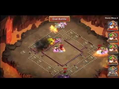 Castle Clash.  Slow Down Is HAX