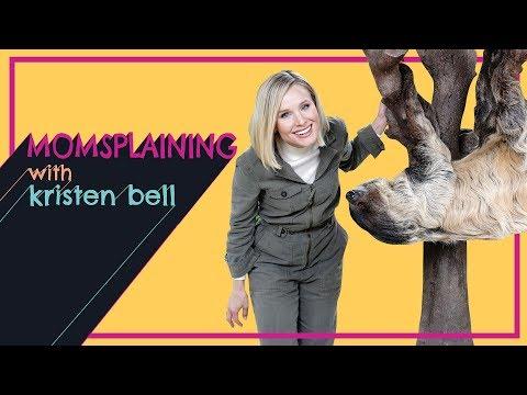 Watch Kristen Bell Ultrasound a Porcupine in 'Momsplaining' Season 3