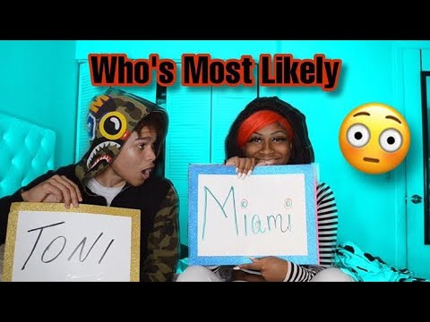 Who's most likely to.. With Miami❤️