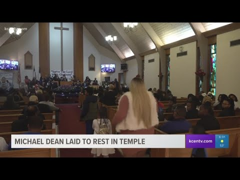 Michael Dean laid to rest in Temple