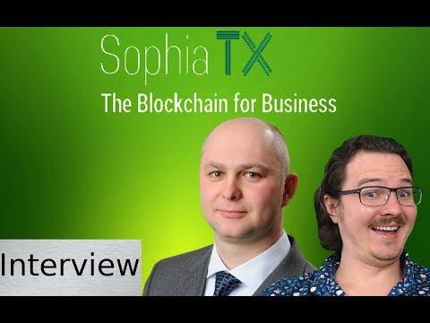 SophiaTX CEO Jaroslav Kacina - On the Edge of Blockchain for Business