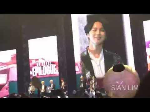 [Fancam] 160730 | 화양연화 | BTS EPILOGUE IN MANILA – JIMIN, JHOPE introduction